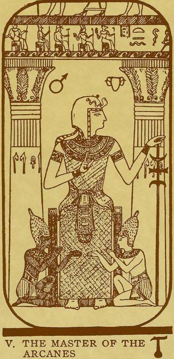 22 Best The Egyptian Tarot Images On Pinterest