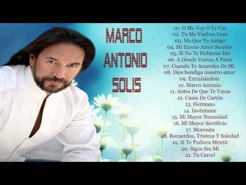 MARCO ANTONIO SOLIS AMOR EN SILENCIOM.A.S (QUE MALA) - YouTube