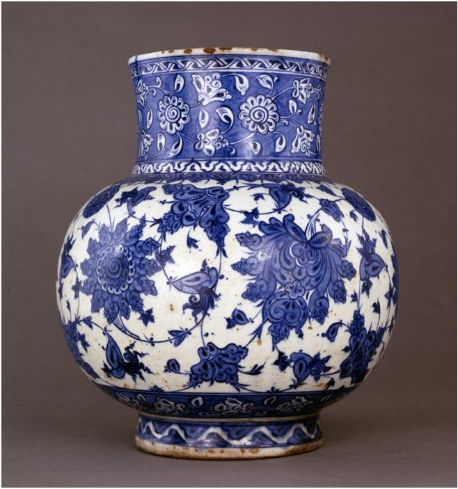 British Museum Jardenier date:1520 from İznik