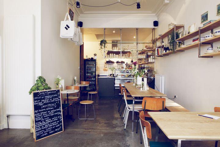 IN BEELD. Vijf keer koffie drinken in 't Stad - koffiebars Antwerpen, Belgium