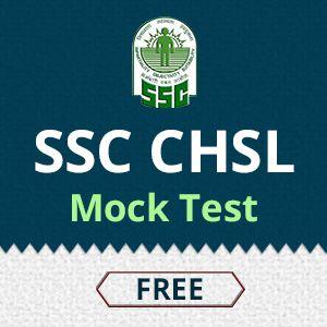 Mock Test for SSC CHSL  https://onlinetyari.com/study-material/ssc-chsl-mock-test.html #SSC CHSL mock test #Onlinetyari free mock test