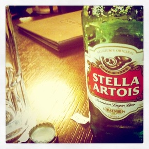 Stella Artois, a sophisticated Belgian Lager Beer from Leuven. Bottom Fermentation. Ingredients: Barley malt, hops, non-malted grains. #Beer #BelgianBeer