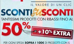 Coop Online offre dei fantastici sconti fino al 50% + un extra sconto del 10% su tanti prodotti, scopri quali!!!!