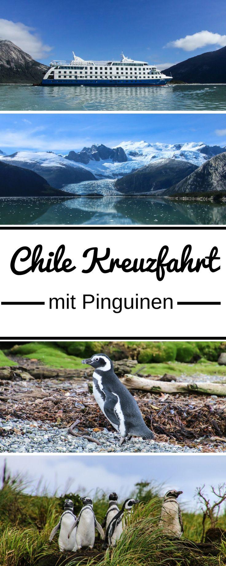 Gletscher, Fjorde, Wale, Delfine und Pinguine sah ich auf meiner Chile Kreuzfahrt. Mit der Stella Australis entdeckte ich in fünf Tagen Patagonien, Feuerland und Kap Hoorn. Ich zeige euch im Artikel die Highlights der Kreuzfahrt, gebe Tipps für die Reise und für das Reisegepäck.