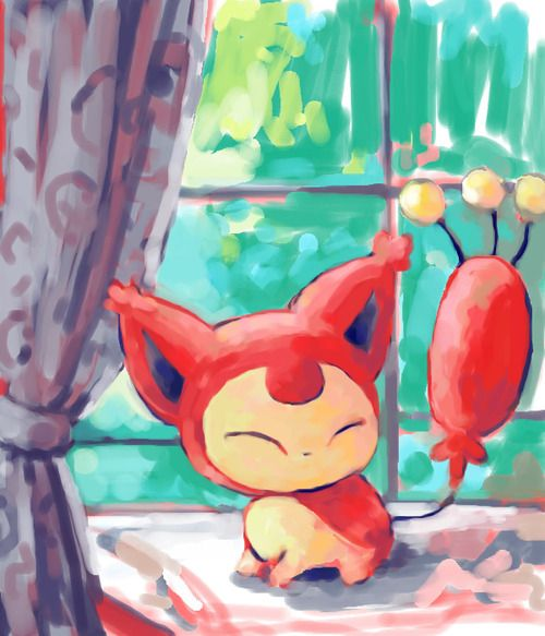 Skitty! Aw I love this pokemon. its so cute! :)