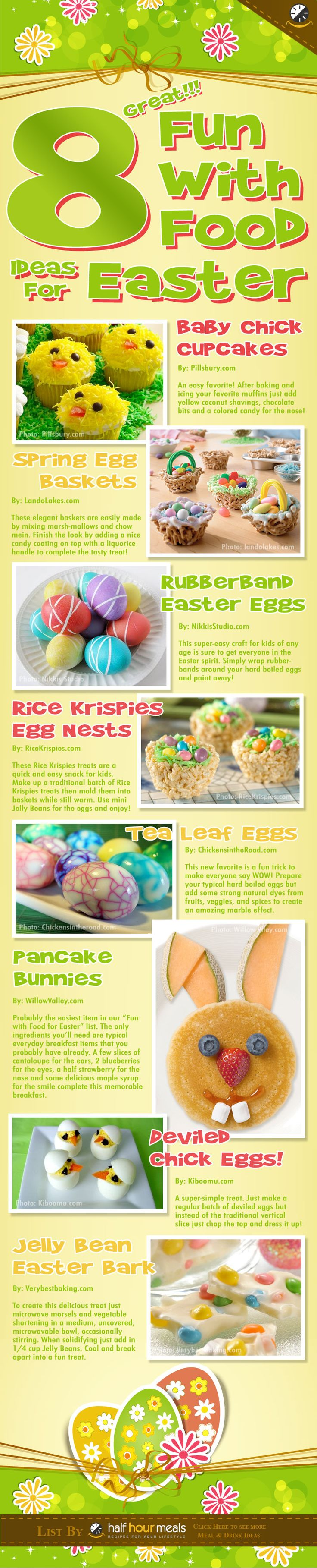 #Easter fun #food and #snack pinned by BentoUSA.com