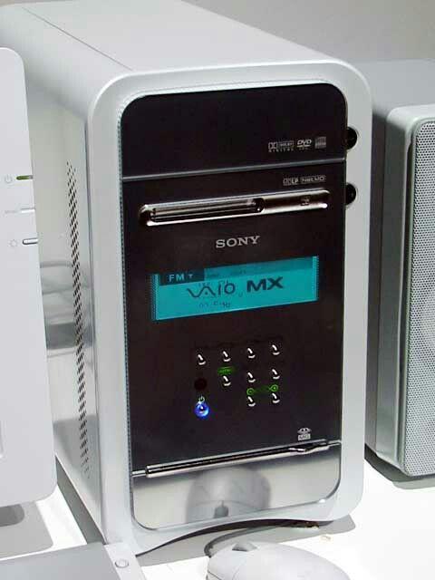 Sony VAIO netMD ::: MiniDisc Desktop