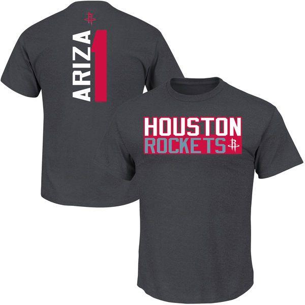 Trevor Ariza Houston Rockets Vertical Name & Number T-Shirt - Gray - $23.99