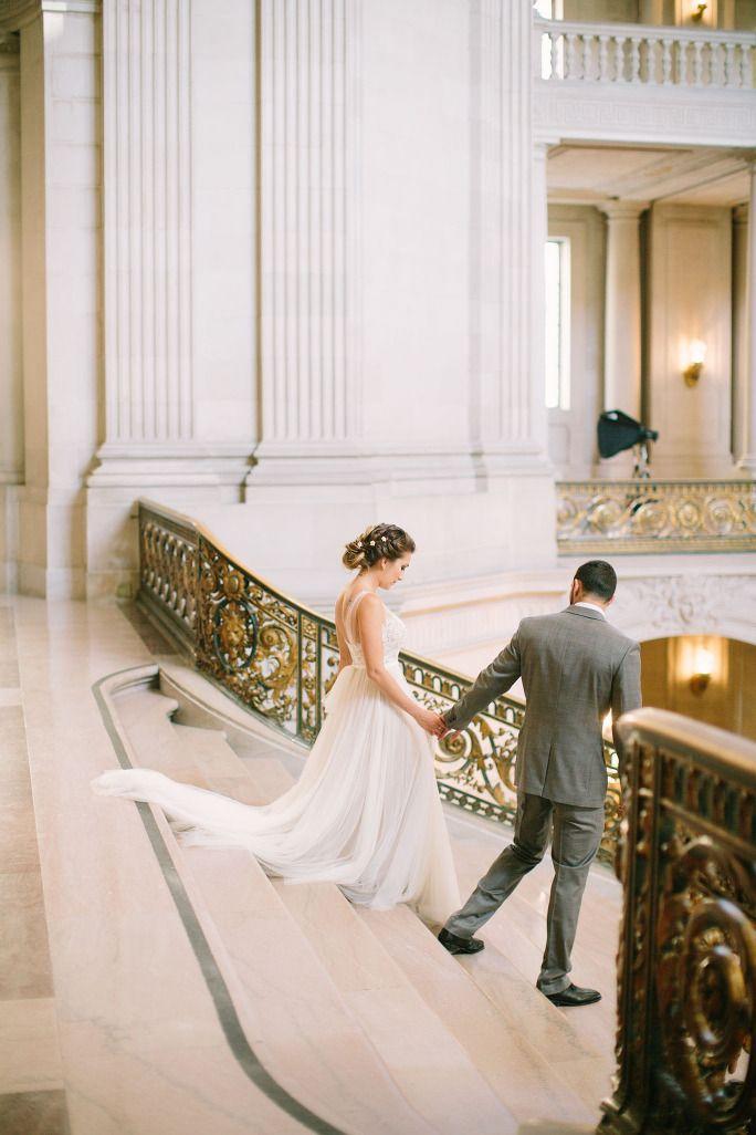 explore city hall wedding inspiration