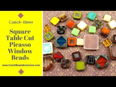 Video! SQUARE TABLE CUT Picasso Window Czech Glass Beads - New Arrivals     #dawanda #dawanda_de #dawandashop #etsy #etsyshop #etsystore #etsyfinds #etsyseller #amazon #amazondeals #alittlemercerie #table #tablecut #cutbeads #window #windowdesign #windowjewelry #cutdesign #tabledesign #czechbeads #glassbeads #czechglassbeads #czechglassjewelry