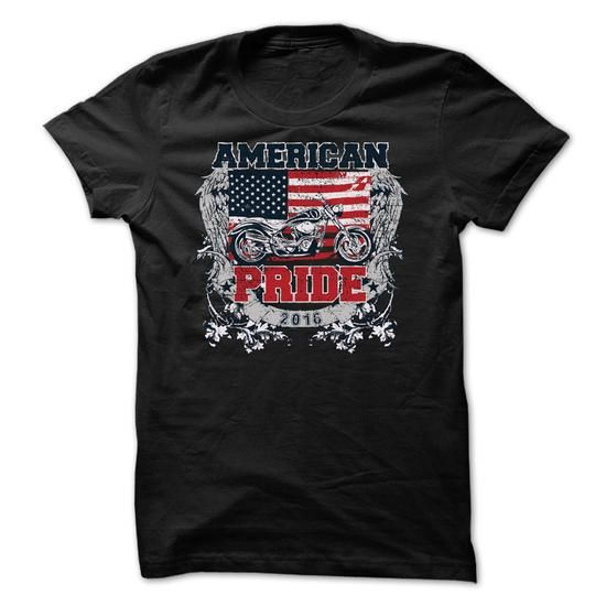 American Pride 2016 for Riders/Bikers T-Shirt Hoodie Sweatshirts ieo. Check price ==► http://graphictshirts.xyz/?p=107417