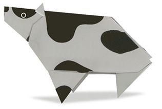 Origami Cattle