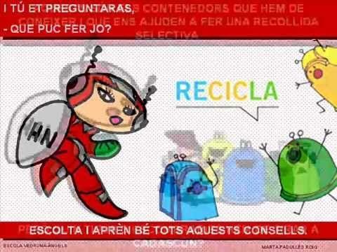 El reciclatge , creat per Marta Padulles Roig
