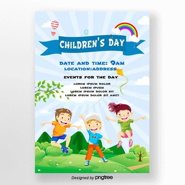 Invitation Letter For Childrens Day Celebration In 2020 Child