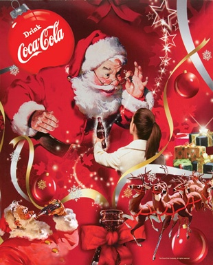Santa - Coca Cola ad