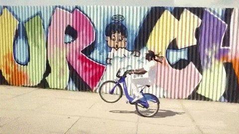 This Guy Got Citi Bike BMW Skills Like Nobody Else