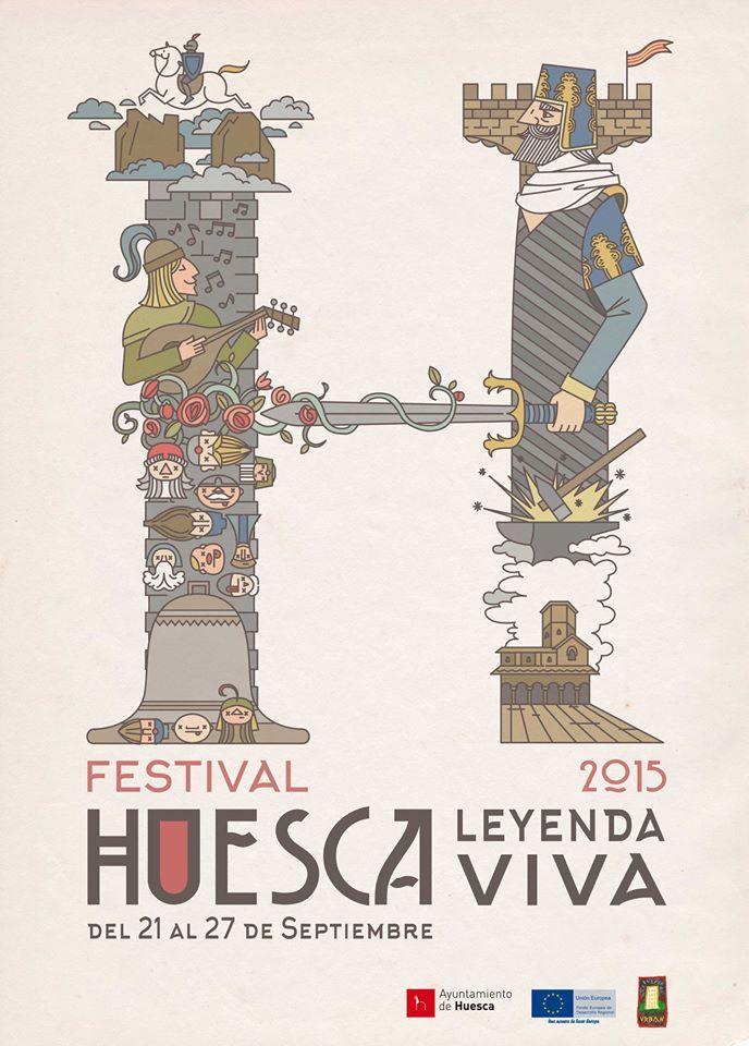 """YA TE PUEDES DESCARGAR EL FOLLETO DEL FESTIVAL """"LEYENDA VIVA"""" - Noticias - Huesca Turismo"""