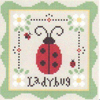 free cross stitch patterns   free ladybug cross stitch patterns