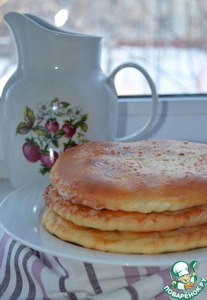 Лепешки с рисом, луком и яйцом - кулинарный рецепт