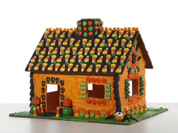 Candy Cottage: Gingerbread House Kit | Log cabins, Pumpkin ...