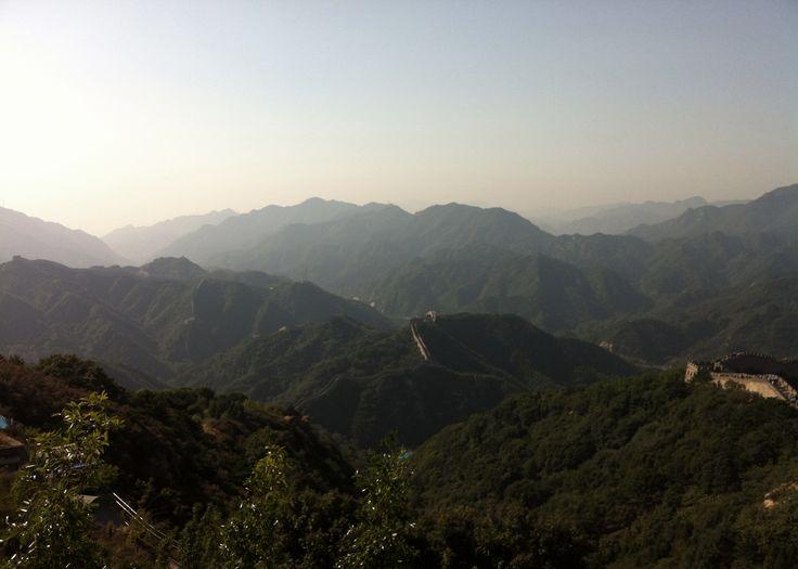 萬里長城. in china