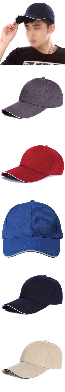 MAKE Hot Plain Baseball Cap Mens Ladies Adult Hat Summer