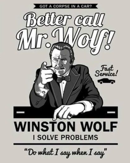 "Pulp Fiction - ""Better Call Mr. Wolf!"" #GangsterMovie #GangsterFlick"