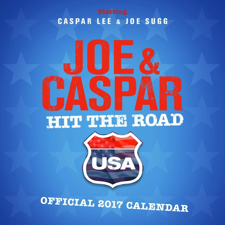 We are delighted to announce you can now PREORDER the NEW Official #JoeSugg & #CasparLee 2017 Calendar now at http://bit.ly/JoeCapsarCal2017  PreOrder your Calendar now and you'll receive FREE UK Delivery! Worldwide delivery is also available.