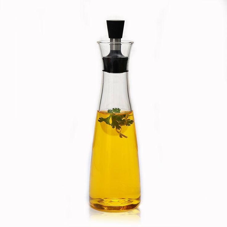 borosilicate glass cooking oil and vinegar bottle,drip free dressing Shaker