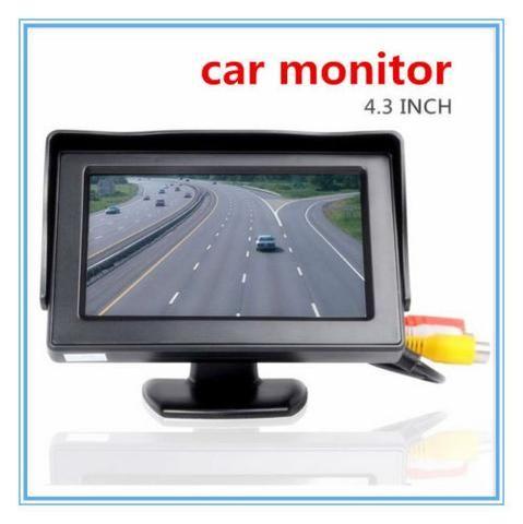 Car Monitor Lcd Camera Rear View Backup Tft 7 Reverse Night Vision Kit Wireless