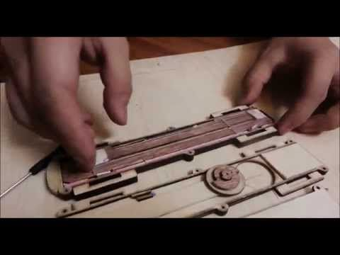 Assassin's Creed Original Dual Action Hidden Blade (Complete version) by ImDeePain Reborn - YouTube