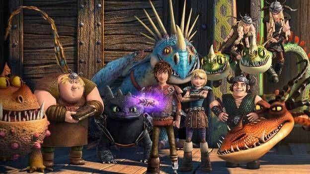 'Hippo' y 'Chimuelo' están de regreso en la nueva serie de Netflix llamada 'Dragones: Carrera al Borde'