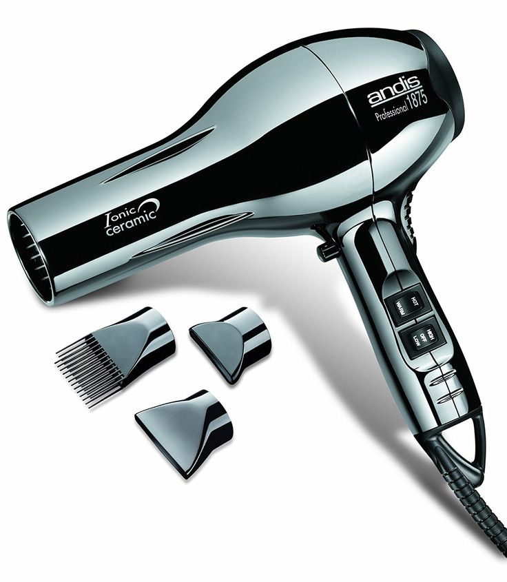 Andis Professional 1875 Watt Ceramic Ionic Hair Dryer - Black Chrome (82005) *** Read more details by clicking on the image. #haircare