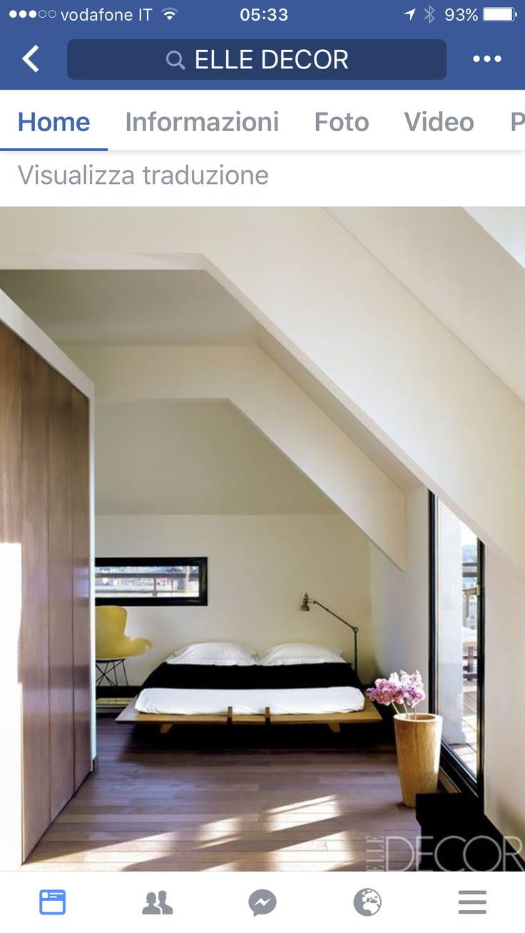Architect Sean McEvoy created an open floor plan for his rooftop apartment  overlooking Paris's Right Bank.