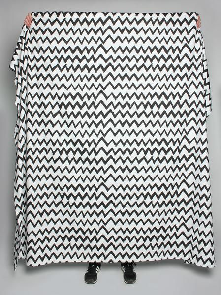 100% Cotton Zig Zag Quilt Cover from Life Modern. Designed in Melbourne. Available in Queen/King size and White or Grey.