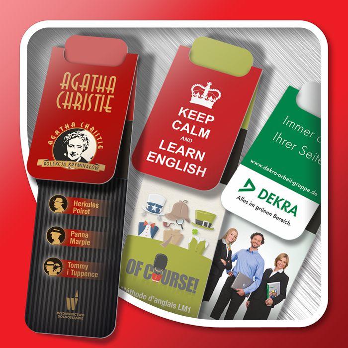 Magnetic bookmarks (standard shapes)