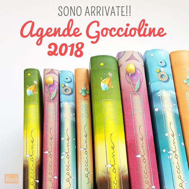 Agende 2018 Goccioline - Giornaliere e settimanali