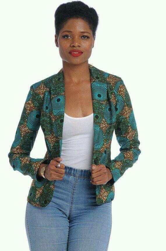 Kitenge jacket, blazers