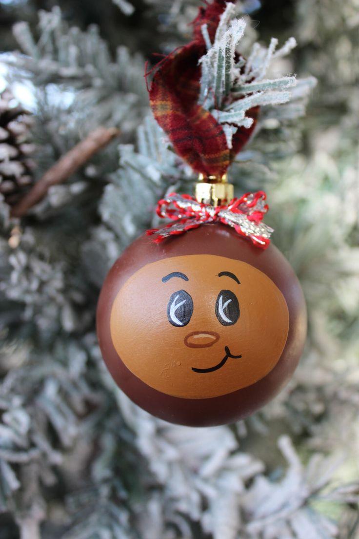 Ohio State Brutus Buckeye Christmas Ornament, Ohio State Football, Sports, Brutus, Christmas ornament, by True2YourART on Etsy https://www.etsy.com/listing/114465348/ohio-state-brutus-buckeye-christmas
