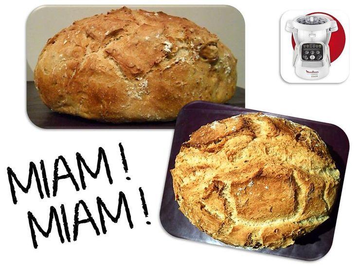 Recette du pain cocotte THx adaptée au Cuisine Companion !