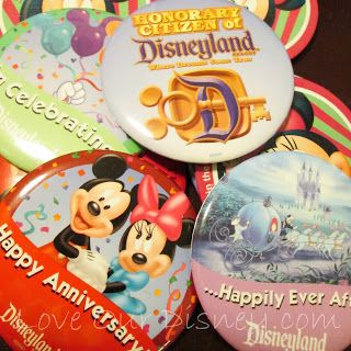 Turn Your Disney Buttons into Magnet Souvenirs
