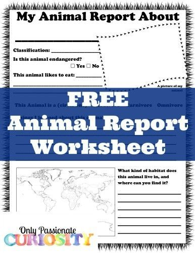 17 Best images about Topic Theme Report Style on Pinterest - animal report template example