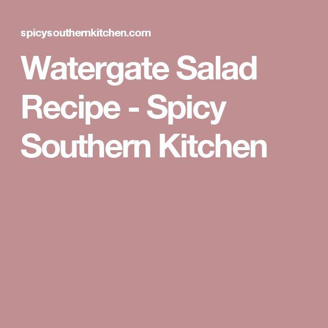 Watergate Salad Recipe - Spicy Southern Kitchen