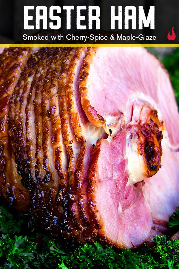 Sorry, Porky, but we're looney for this ham recipe. With a sweet, caramelized maple exterior infused with cherry spice, there's no telling if the kids will want this or chocolate Easter eggs more. | Char-Broil