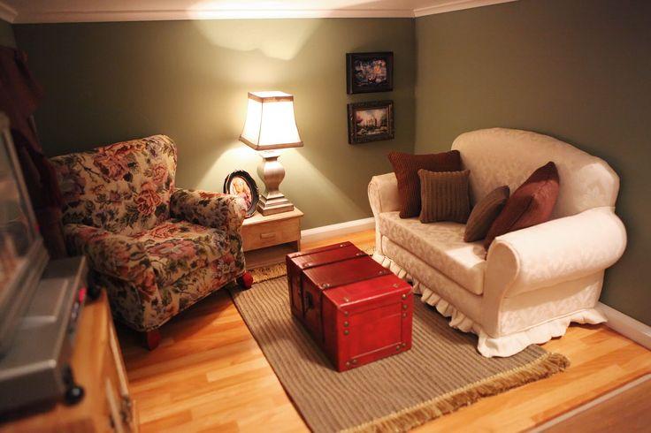 My American Girl Doll Living Room