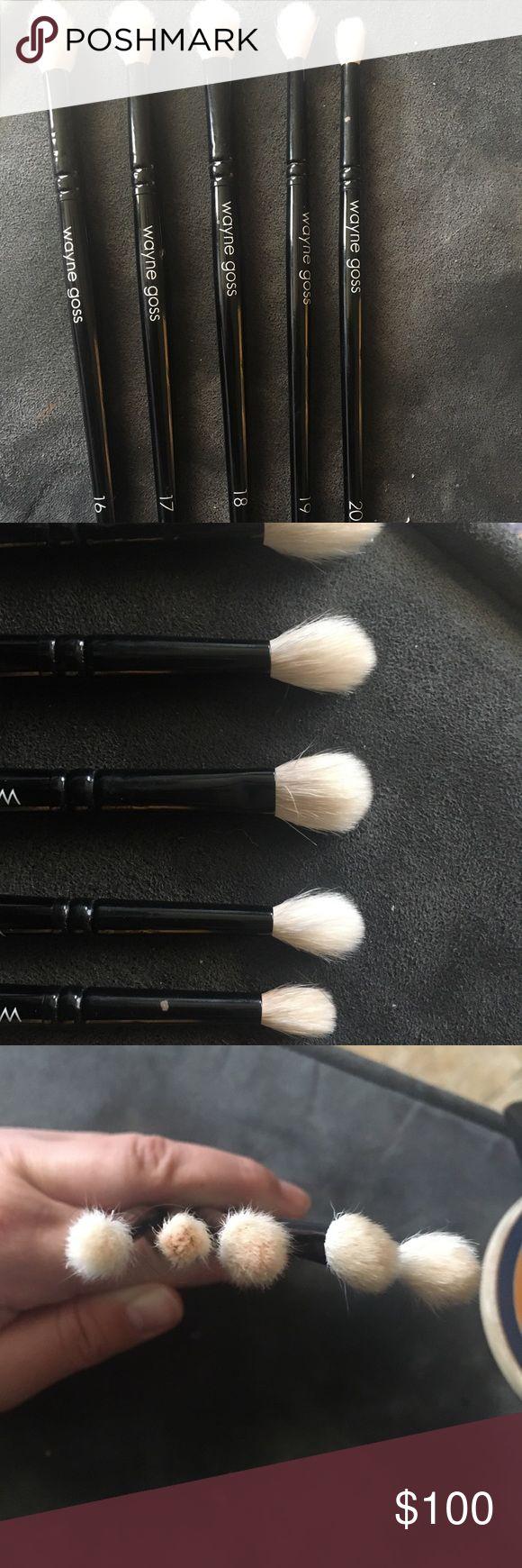 Wayne goss eye brush set Used around 10 times. I have