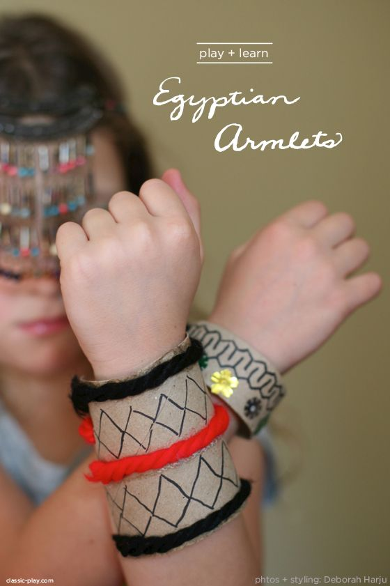Egyptian armlet project by @Deborah Harju  for Classic Play