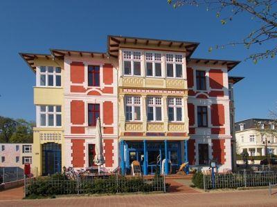 Villa Emmy, Strandpromenade, Ahlbeck, Insel Usedom