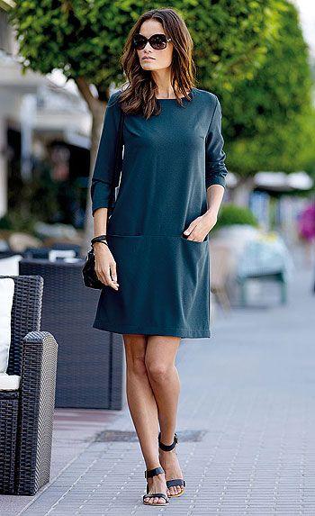 stof og stil kjole mønster: 23088 stof: 501183