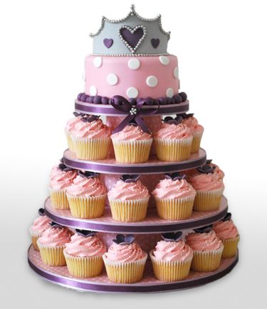 12 best Custom Cupcake Cakes images on Pinterest Cup cakes